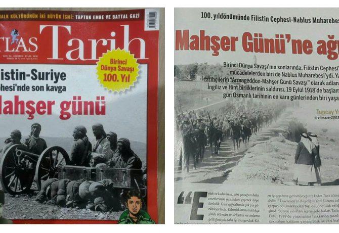 """""""Mahşer Günü'ne Ağıt"""" – Filistin Cephesi Nablus Muharebesi (Tuncay Yılmazer)"""