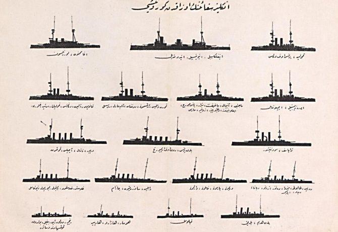 İngiltere'nin I. Dünya Savaşı'nda Akdeniz'de Bulunan  Harp Gemileri (Bayram Akgün)