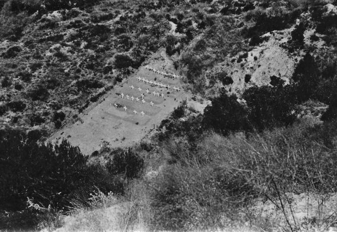 Pope Tepesi Mezarlığı – Pope's Hill Cemetery (Gürsel Akıngüç)