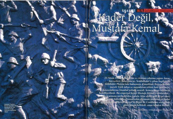 Kader Değil Mustafa Kemal – İlk 4 Saat (Gürsel Göncü-Jul Snelders-Şahin Aldoğan)