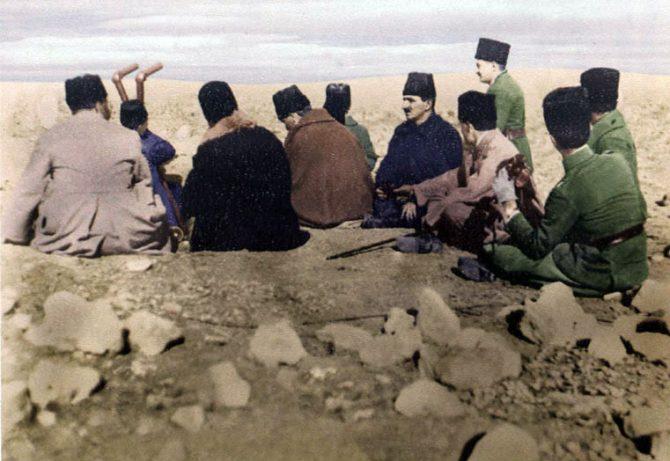 Sakarya Meydan Muharebesi'nde 11'inci Piyade Tümen Komutanları (Eray Çelik)